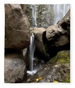 Wailua Falls Fleece Blanket
