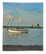 51- Phil Foster Park-singer Island Fleece Blanket