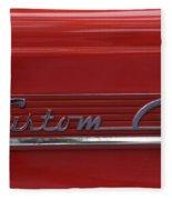56 Ford F100 Custom Cab Fleece Blanket