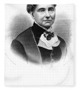Amelia Bloomer (1818-1894) Fleece Blanket