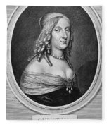 Christina (1626-1689) Fleece Blanket