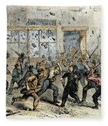 Civil War: Draft Riots Fleece Blanket