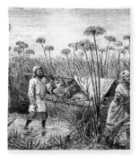 David Livingstone (1813-1873) Fleece Blanket
