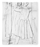 Edward Bulwer Lytton Fleece Blanket