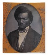 Frederick Douglass, African-american Fleece Blanket
