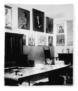 Gertrude Stein (1874-1946) Fleece Blanket