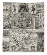 John Smith (1580-1631) Fleece Blanket