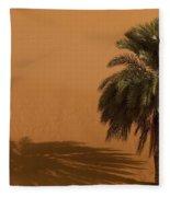 Merzouga, Morocco Fleece Blanket