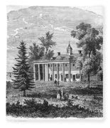 Mount Vernon Fleece Blanket