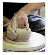 Pottery Wheel, Sequence Fleece Blanket
