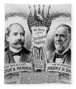 Presidential Campaign, 1904 Fleece Blanket