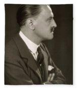 William Somerset Maugham Fleece Blanket