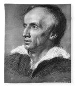 William Wordsworth Fleece Blanket