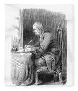 Benjamin Franklin (1706-1790) Fleece Blanket