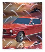 66 Fastback Fleece Blanket