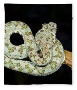 Eyelash Viper Fleece Blanket
