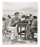 Film Still: Beach Fleece Blanket