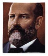 James A. Garfield (1831-1881) Fleece Blanket