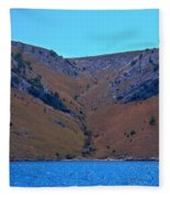 Kornati National Park Fleece Blanket