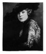 Mae West (1892-1980) Fleece Blanket