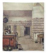 Michael Faraday, English Physicist Fleece Blanket