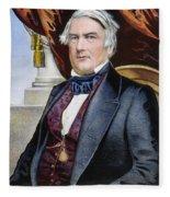 Millard Fillmore (1800-1874) Fleece Blanket