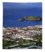 Vila Franca Do Campo Fleece Blanket