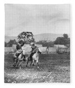 William F. Cody (1846-1917) Fleece Blanket