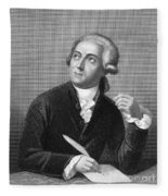 Antoine Laurent Lavoisier Fleece Blanket