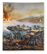 Battle Of Fredericksburg Fleece Blanket