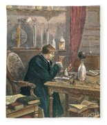Benjamin Franklin, American Polymath Fleece Blanket