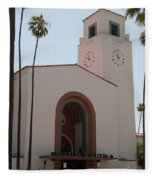 El Pueblo De Los Angeles Fleece Blanket