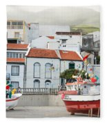 Vila Franca Do Campo Fleece Blanket