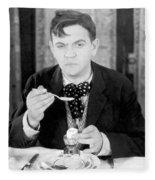 Film Still: Eating & Drinking Fleece Blanket