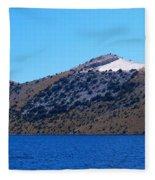 Kornati National Park Fleece Blanket