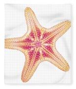 X-ray Of Starfish Fleece Blanket