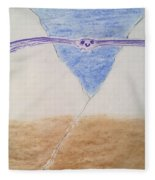 A Balanced View Fleece Blanket