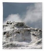 A Beautiful Geyser Fleece Blanket