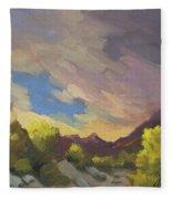 A Break In The Clouds Fleece Blanket