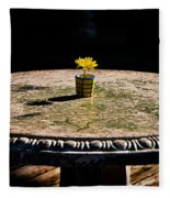 A Bright Spot Fleece Blanket