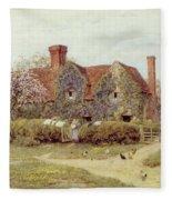 A Buckinghamshire House At Penstreet Fleece Blanket