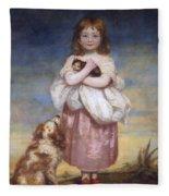 A Child Fleece Blanket