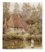 A Cottage Near Haslemere Fleece Blanket
