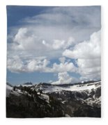 A Curved View Fleece Blanket