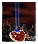 A Day Of Remembrance Nine Eleven Fleece Blanket