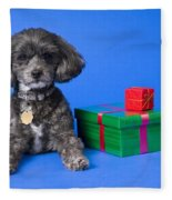 A Dog With Some Gifts Fleece Blanket