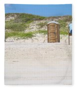 A Full Service Beach Fleece Blanket