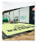 A Giant Sized Game Of Monopoly Fleece Blanket