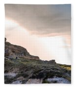 A Long Climb Fleece Blanket