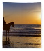 A Moment Of Silence Fleece Blanket